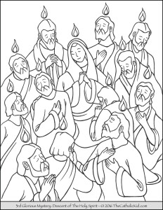 glorious-mysteries-rosary-coloring-pages-3rd-descent-of-the-holy-spirit